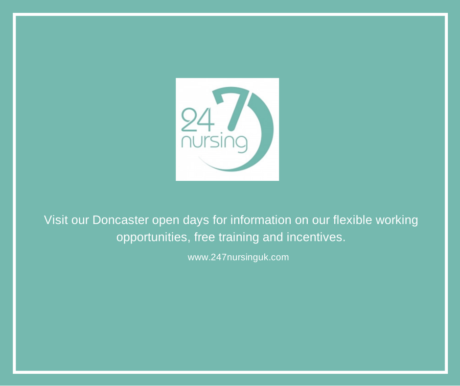 Twenty Four Seven Nursing open days 14 -15 October in Doncaster