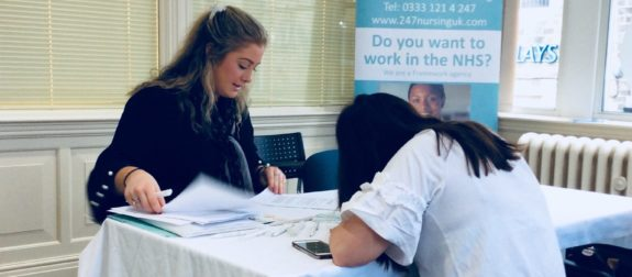 Recruitment days for May  – Nurses, support workers and healthcare assistants