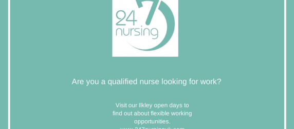 Twenty Four Seven Nursing's next open days: 23rd-25th September 2014